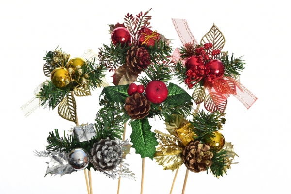 misc christmas picks - Christmas Wreath Decorations Wholesale